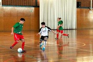 El jugador del Ciudad de Ceuta FS Monchito ha anotado uno de los goles de Ceuta ante País Vasco