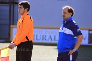 Ricardo Navarro espera que su equipo se adapte al campo de albero de la AD San García