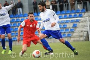 Borja Gil marcó su primer gol de la temporada con el equipo ceutí