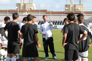 El seleccionador sub'18 está contento con el trabajo de sus jugadores en la 1ª fase del Nacional