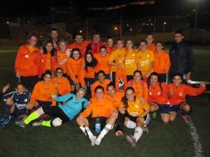El Luis de Camoens se proclamó campeón de la Liga femenina de fútbol 8