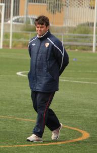 Javier Pérez Garramiola 'Chesco' espera que su equipo siga en la misma línea de los últimos partidos. Foto: Sevillista.com