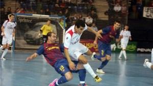 Santiago Futsal es sexto en la Primera División tras caer en la última jornada ante el FC Barcelona