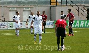 Perita jugó a un buen nivel ante el Cabecense, a pesar de sus molestias en el pubis