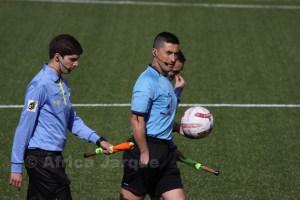 Arias Madrid no pita un partido de Segunda B desde el 16 de junio de 2013. Foto: África Jarque
