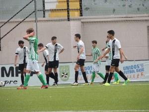 El Ceutí jugó a un buen nivel ante el Betis B y consiguió con merecimiento los tres puntos. Foto: Dani Vicente