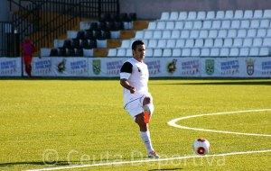 Ernesto García será baja este domingo en el partido que jugará el Ceuta contra el Pozoblanco en el Murube