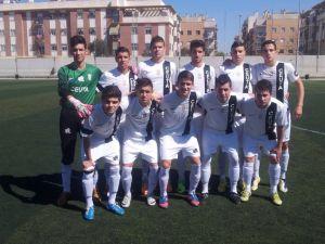 Juanma Alamillos afrontó todo el partido con estos 11 jugadores