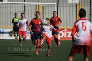 El CD Puerto Disa no falló ante el Atlético Algecireño al que venció por 0-2