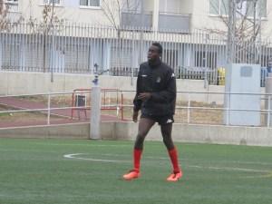 Abdoul Diakhatè se incorporó al Ceuta tras estar unos días a prueba en el Xerez CD