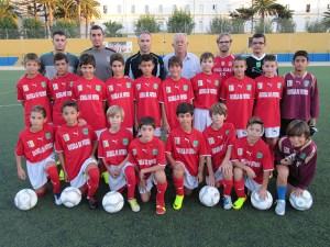 La selección alevín de fútbol 8 se prepara para el Nacional de Arrigorriaga (Vizcaya)
