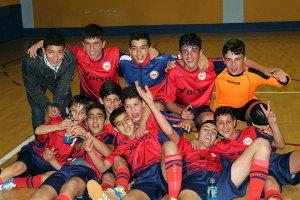 Los jugadores del Puerto celebran el título de Liga conquistado