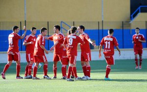 El Ceuta B goleó al Goyu Ryu y comparte el liderato con el Ceuta CF Base