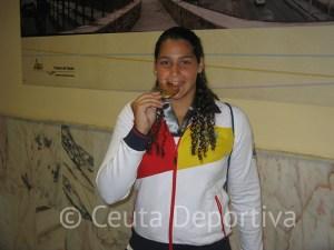 Lorena Miranda se colgó la medalla de oro en el Campeonato del Mundo de Barcelona'13