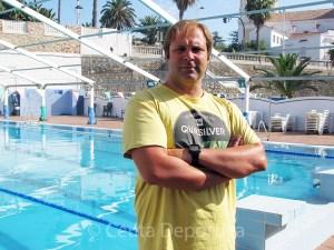 Sergio Aguilera, entrenador del CN Caballa