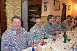 Matoso (tercero por la izquierda) seguirá como presidente del CN caballa hasta el año 2024