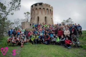 Más de 170 senderistas han querido despedir el año con Anyera / Foto: José Carlos Ruiz