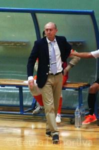 Santi Valladares, entrenador de la UA Ceutí FS