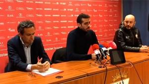 Jesús Romero, durante la rueda de prensa que ha ofrecido este jueves