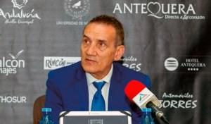 Moli, entrenador del Besoccer UMA Antequera
