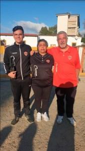 Antoñito Cano, Patro Moraño y Antonio Cano