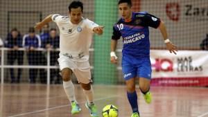Peerapat, durante el Azulejos Moncayo Colo Colo - Santiago Futsal de esta temporada