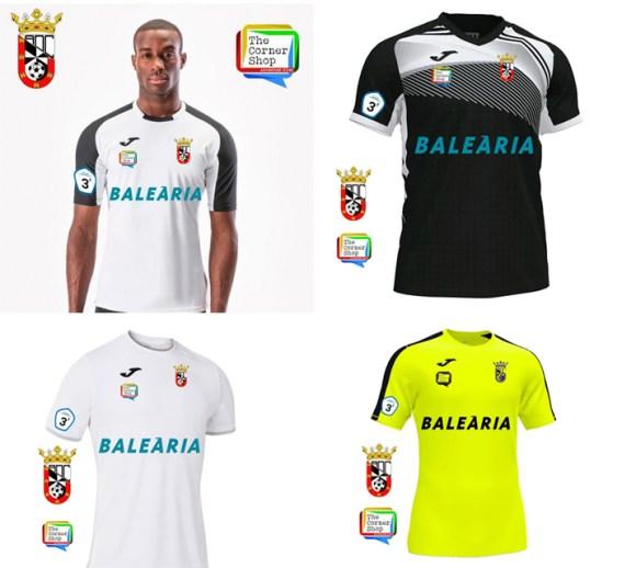 Diseño de las que pueden ser nuevas camisetas de la AD Ceuta FC