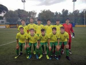 Una formación de la Gimnástica de Ceuta de esta temporada
