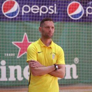 José Ramón Ruiz 'Taconi', entrenador del Deportivo UA Ceutí