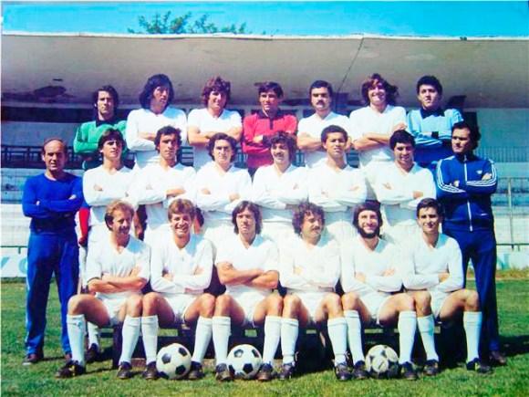 Plantilla de la AD Ceuta en la temporada 79-80