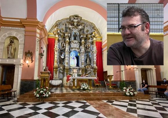 Un momento de la ceremonia religiosa que se ha celebrado en la Iglesia de Los Remedios