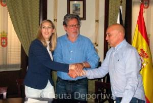 Jesús Salvador Gómez estará otros cuatro años al frente de la natación ceutí