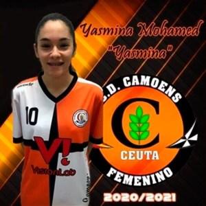 Yasmina sigue una temporada más en el Camoens