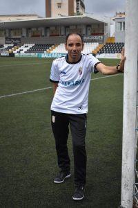Mauco, en el estadio Alfonso Murube