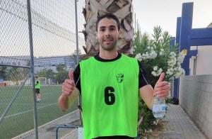 Salvador Alcaraz, el pasado fin de semana durante las pruebas físicas realizadas en Málaga / Foto: FFCE