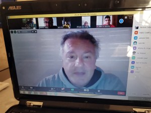 Pablo Coleffi, durante su ponencia 'online'