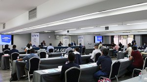 Imagen de las dos asambleas celebradas por la LNFS la semana pasada