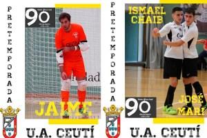 Jaime, Smail y José Mari estarán en la pretemporada del primer equipo del Ceutí