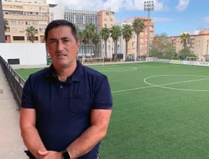 Ramón Arias Madrid, ya expresidente del Comité de Árbitros de la FFCE