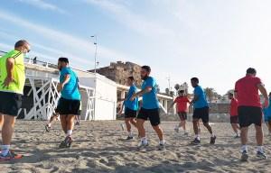 El Ceutí sigue con su puesta a punto de cara a la nueva temporada en Segunda División