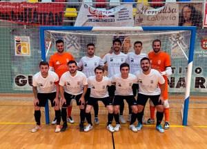 Formación de la UA Ceutí B, en el único partido que ha podido disputar hasta el momento