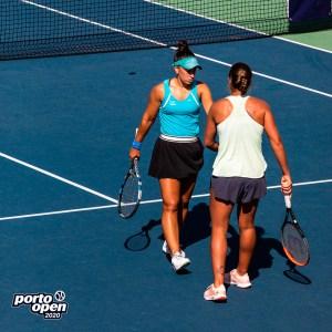 Olga Parres y Francisca Jorge Jorge volvieron a caer en semifinales en Oporto