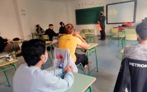 Arias Madrid, impartiendo una de las clases del curso / Foto: FFCE