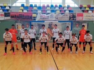 Una formación del Deportivo UA Ceutí de esta temporada