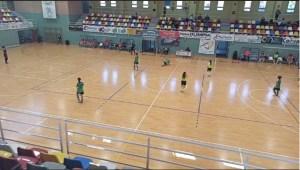 Un momento del partido disputado en el 'Guillermo Molina'