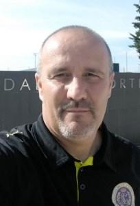 Juan Hernández, entrenador del CD Polillas Ceuta