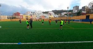 El Ceuta se entrena desde esta semana en el José Martínez 'Pirri'