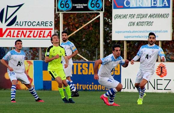 El Ceuta ocupa la segunda posición en el Subgrupo 10-A, que tiene un equipo menos que el B