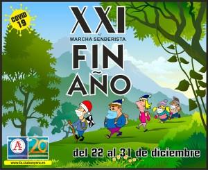 Cartel anunciador de la actividad organizada por el Club de Montaña Anyera