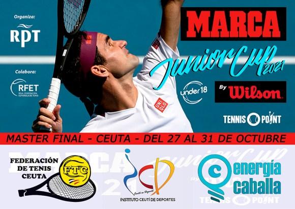Cartel anunciador del torneo que se celebrará en Ceuta en el mes de octubre de 2021
